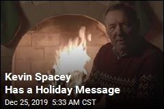 Kevin Spacey Has a Holiday Message