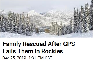 Family Rescued After GPS Fails Them in Rockies