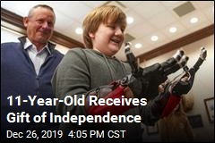 Boy, 11, Now Looks Forward to Independence at School