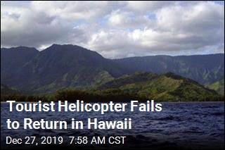 Tourist Helicopter Fails to Return in Hawaii