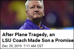 After Plane Tragedy, an LSU Coach Made Son a Promise