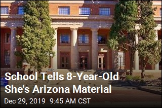 School Tells 8-Year-Old She's Arizona Material
