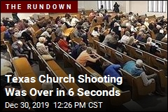 Texas Church Shooting Was Over in 6 Seconds