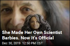 She Made Her Own Scientist Barbies. Now It's Official