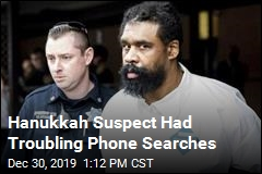 Hanukkah Suspect Had Troubling Phone Searches
