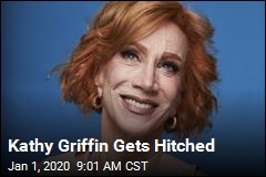 Kathy Griffin Gets Hitched