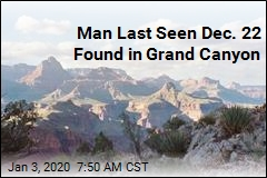 Man Missing for 11 Days Found in Grand Canyon