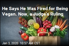 Early Win for Vegan Who Says He Was Fired for His Beliefs