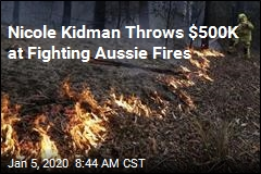 Nicole Kidman Throws $500K at Fighting Aussie Fires