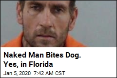 (Florida) Man (on Meth) Literally Bites Dog