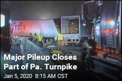 5 Dead, at Least 60 Hurt in Pa. Turnpike Pileup