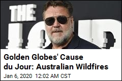Wildfires Forced Russell Crowe to Miss Golden Globes