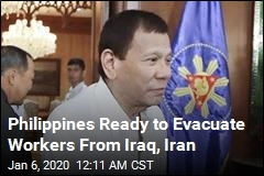 Philippines Ready to Evacuate Workers From Iraq, Iran