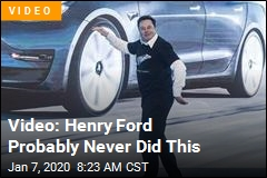 Video: Henry Ford Probably Never Did This