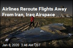 Airlines Reroute Flights Away From Iran, Iraq Airspace