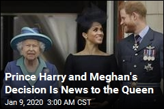 Prince Harry and Meghan's Decision Is News to the Queen