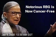 Notorious RBG Is Now Cancer-Free