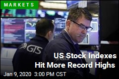 US Stock Indexes Hit More Record Highs
