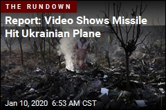 Report: Video Shows Missile Hit Ukrainian Plane