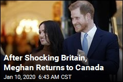 After Just 3 Days in UK, Meghan Returns to Canada