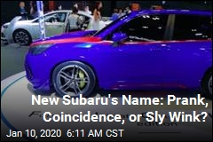 This New Subaru Has a Very NSFW Name