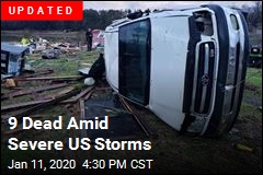 4 Dead Amid Severe US Storms