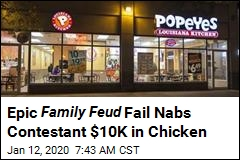 Epic Family Feud Fail Nabs Contestant $10K in Chicken