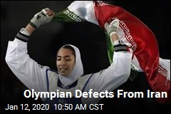 Iranian Olympic Medalist Defects, Cites Oppression