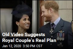 Video Crops Up With Royal 'Escape Plan'