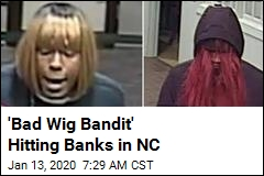 Bank Robber Has One Common Tell: Bad Wigs