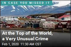 At the Top of the World, a Very Unusual Crime
