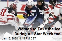 NHL Invites Women to Play on All-Star Weekend