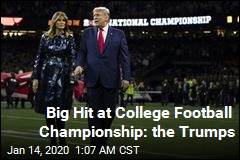 Trump Cheered by Crowd at College Football Championship