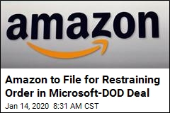 Amazon Makes Latest Move to Stop Microsoft's DOD Work