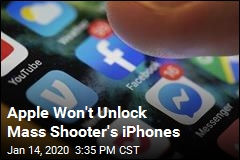 Apple Won't Unlock Mass Shooter's iPhones