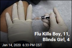 Flu Kills One Child, Blinds Another