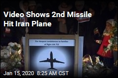 New Video Shows 2 Missiles Striking Iran Plane