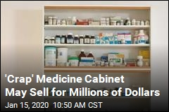 $800 Medicine Cabinet May Sell for Millions