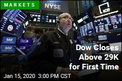 Dow Closes Above 29K for First Time