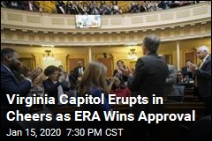 Virginia Capitol Erupts in Cheers as ERA Wins Approval