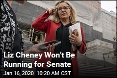 Liz Cheney Won't Run for Senate, Eyes House Prize?