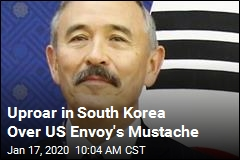 Uproar in South Korea Over US Envoy's Mustache