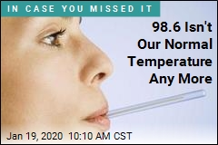 98.6 Isn't Our Normal Temperature Any More