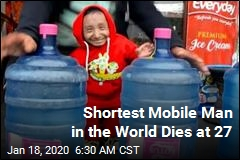 Man Who Held 'World's Shortest' Title Dies at 27