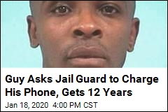 Guy Asks Jail Guard to Charge His Phone, Gets 12 Years