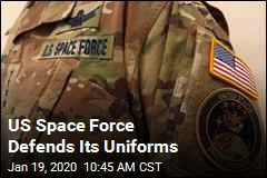 US Space Force Defends Its Uniforms