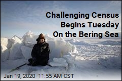 Challenging Census Begins Tuesday On the Bering Sea