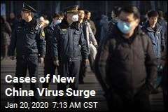 Cases of New China Virus Surge