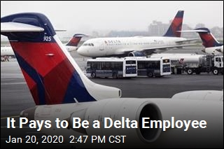 It Pays to Be a Delta Employee