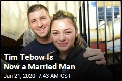 Tim Tebow Weds Former Miss Universe